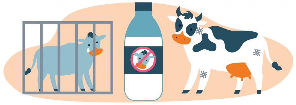 Latte Io Scelgo Veg-Essere Animali