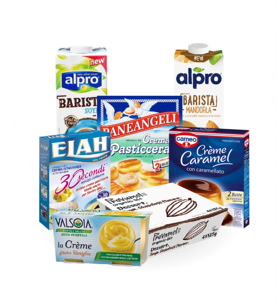 Come sostituire il latte-Creme e budini