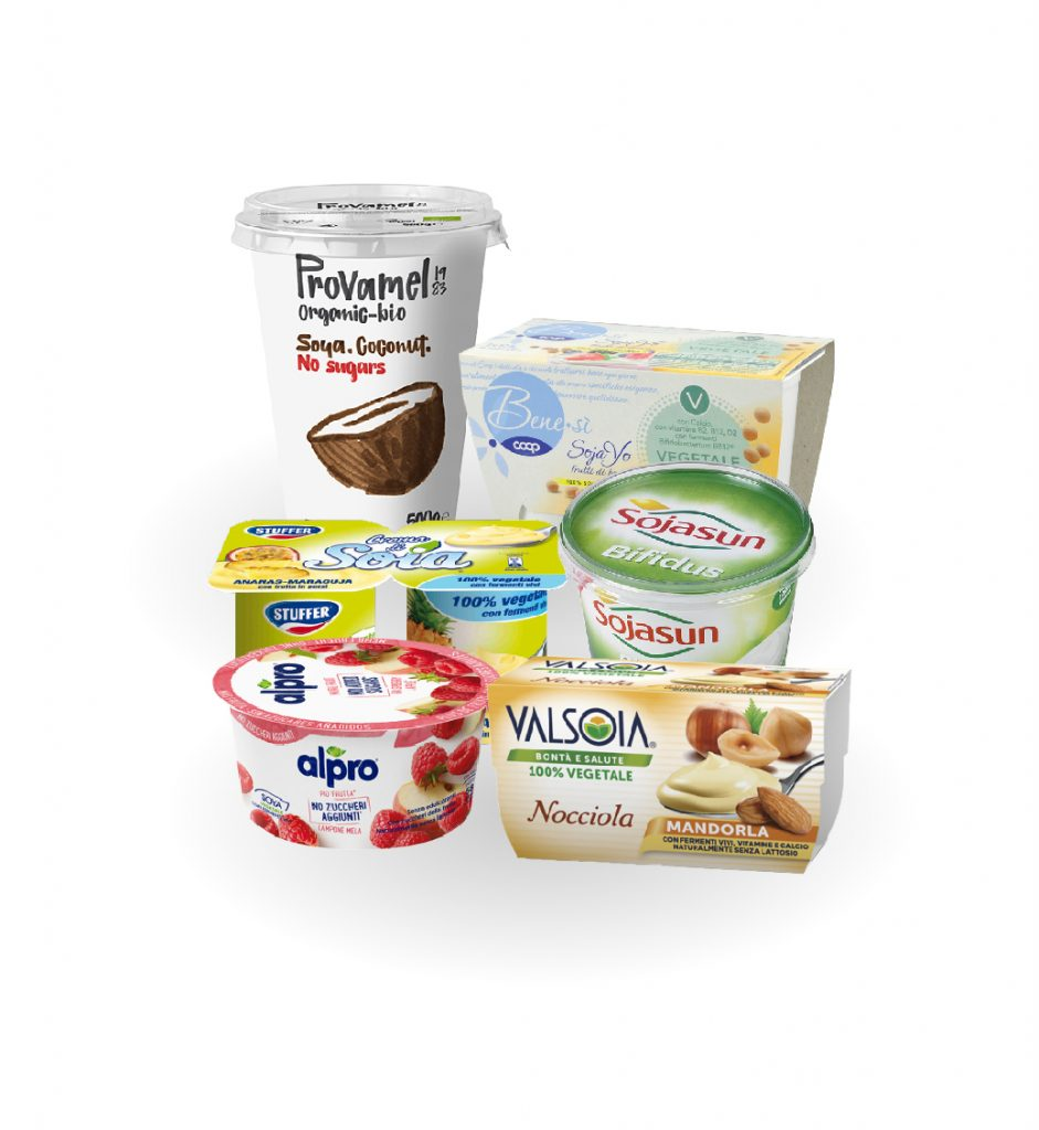 Yogurt vegetale
