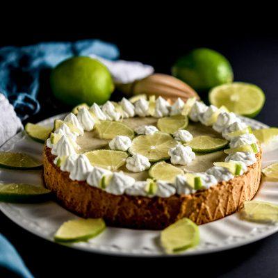 key lime cake vegan