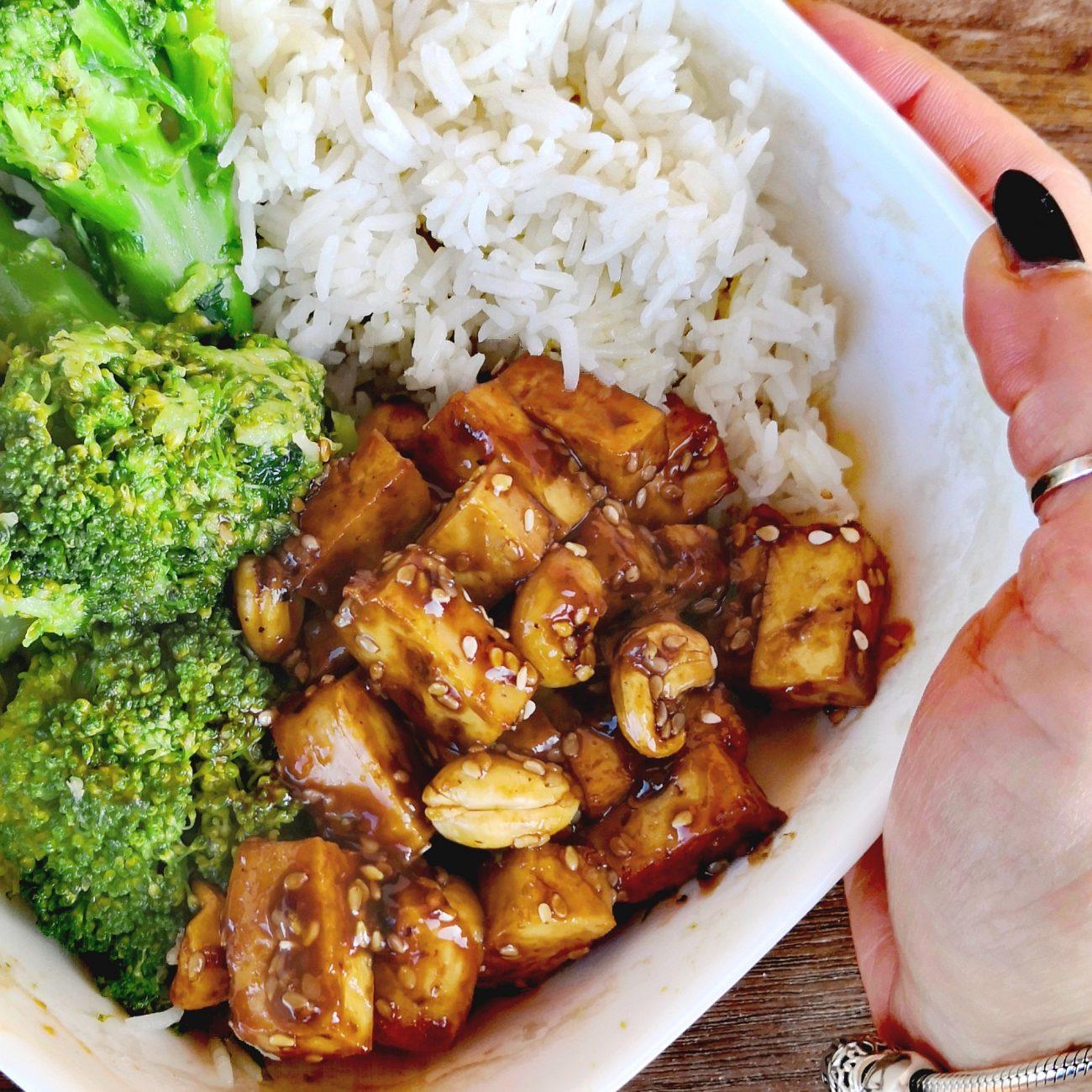 Tofu laccato