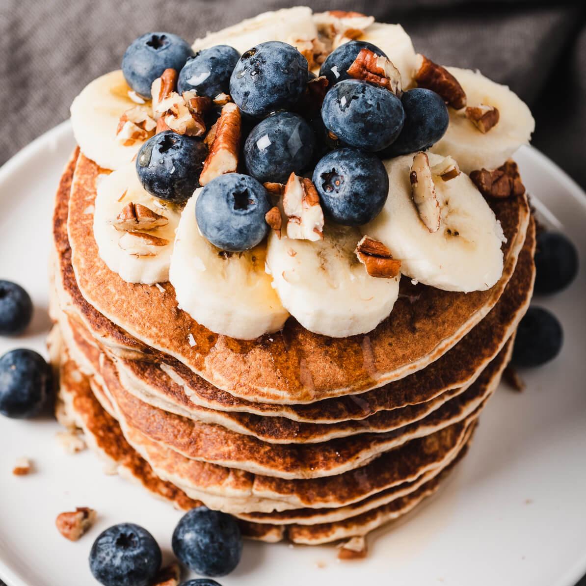 Pancake glutenfree alla banana