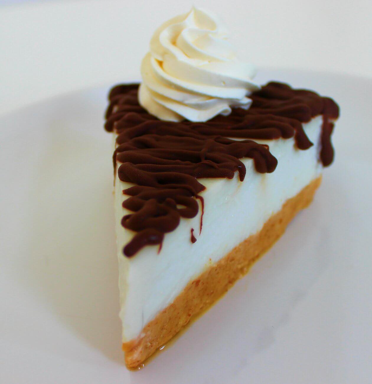 Cheesecake fresca al cocco