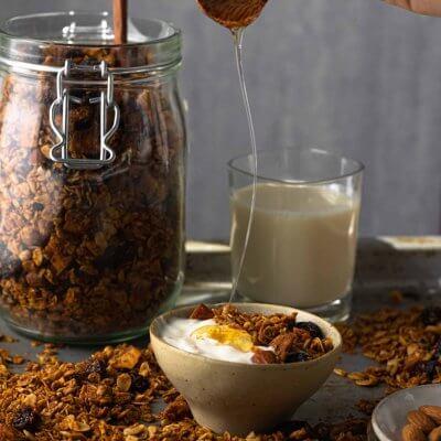granola al burro d'arachidi