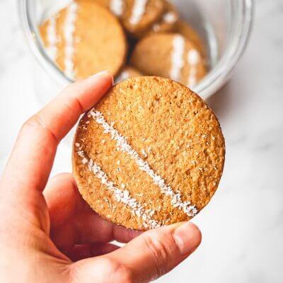 biscotti al farro e cocco