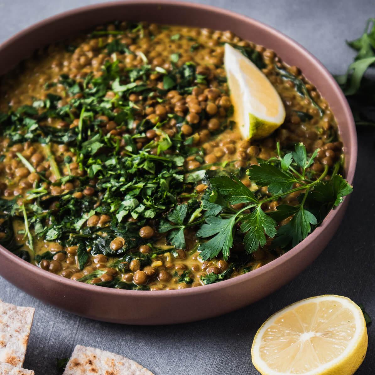 Curry di lenticchie