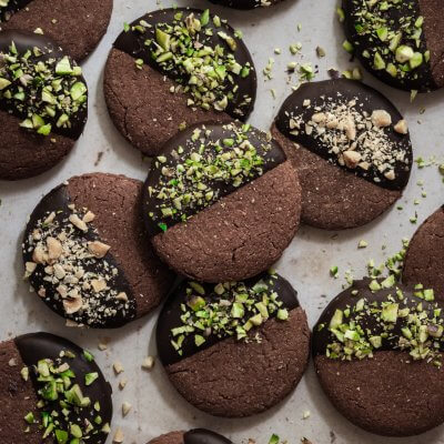 frollini al cacao vegan