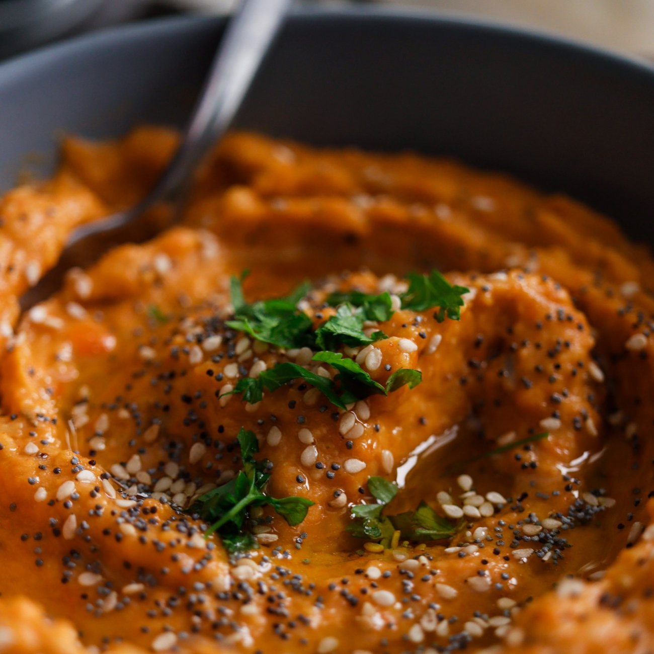 Hummus di peperone
