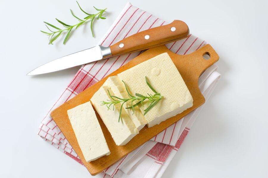 Panetto di tofu classico
