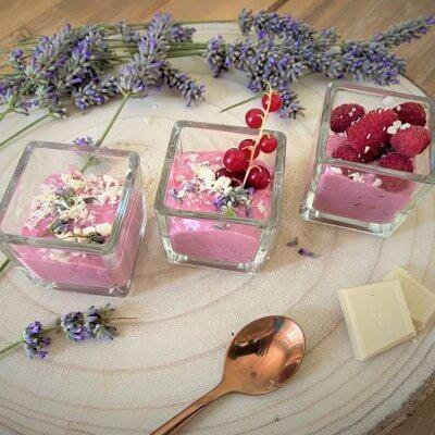 gelatini frutti di bosco e lavanda vegan