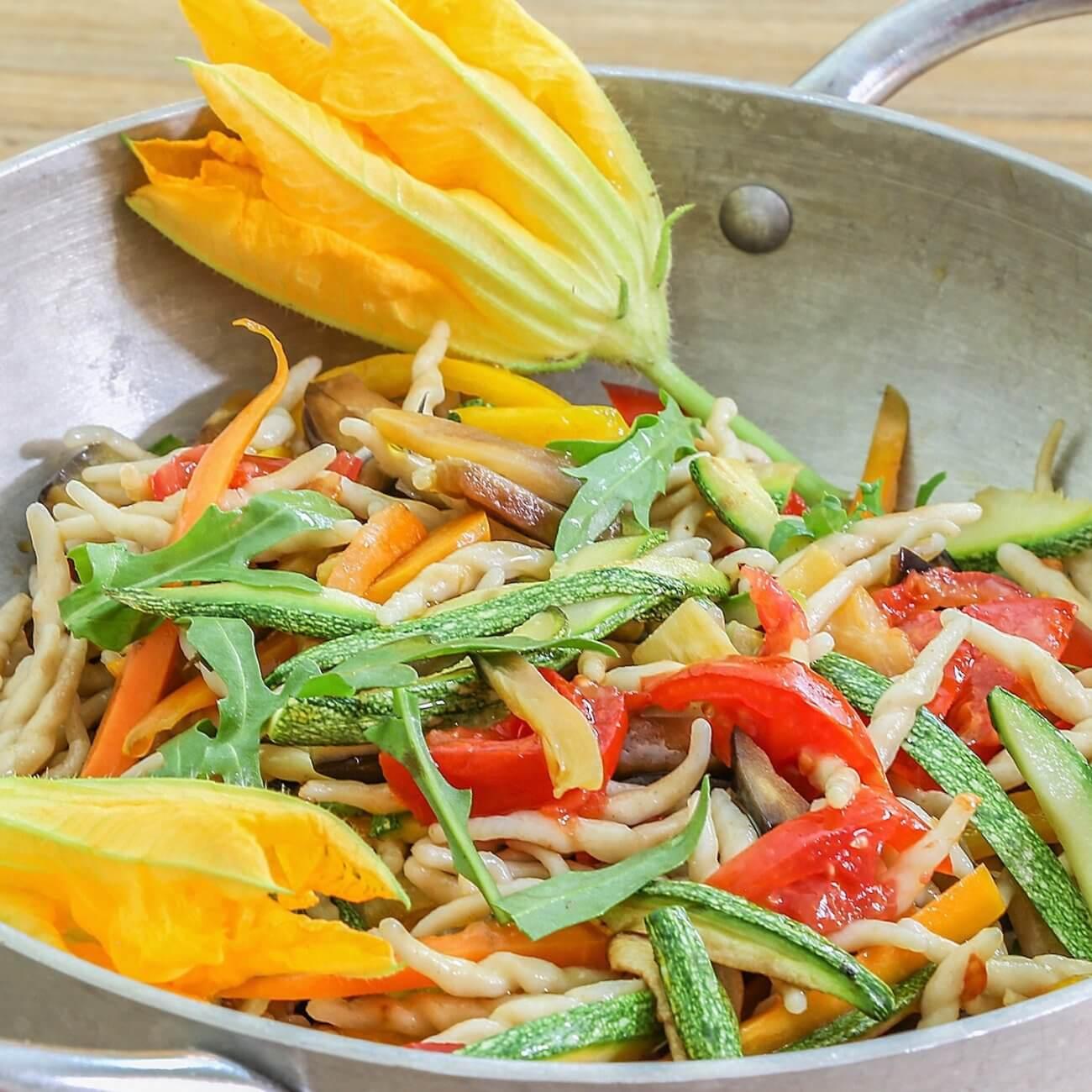 Strozzapreti alle verdure