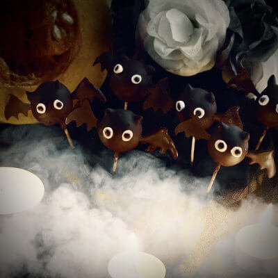pipistrelli di cioccolato